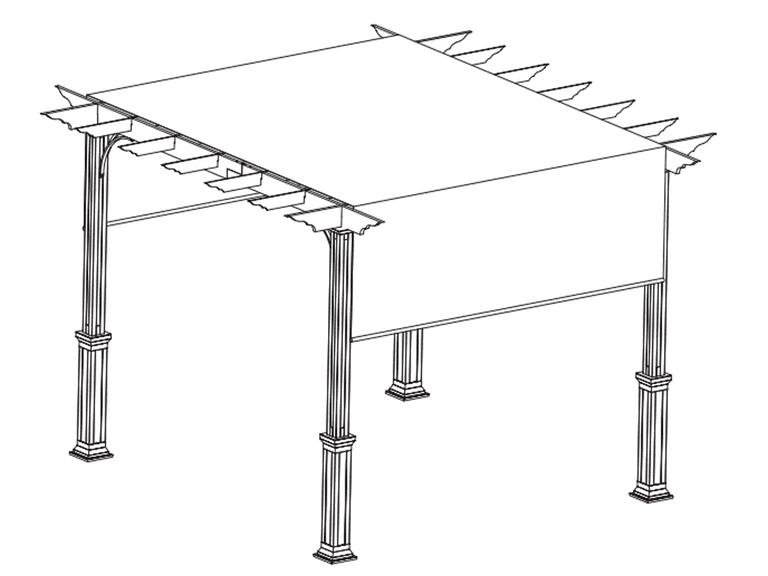 Pergola Canopy by Lowe's